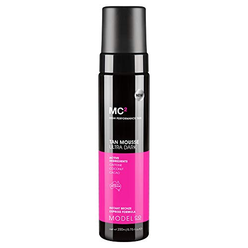 ModelCo Self Tanning Mousse | Sunless Tanner | Ultra Dark | 6.7 oz (200 ml)