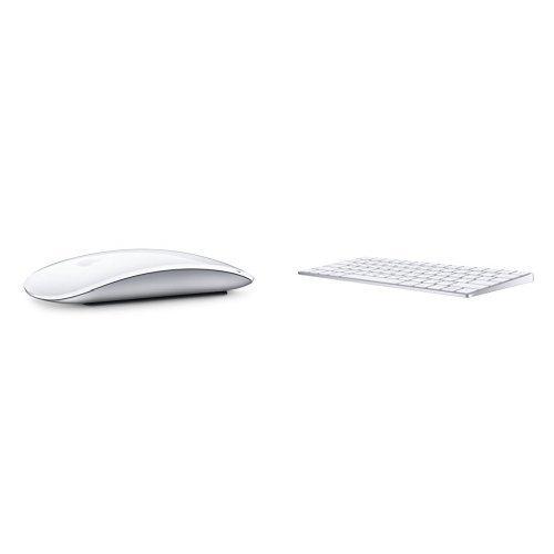 Apple Wireless Magic Mouse 2 (MLA02LZ/A) & Apple Wireless Magic Keyboard Bundle by 6Ave