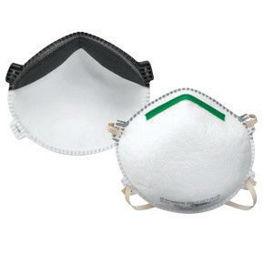 North 14110403 by Honeywell Medium - Large N99 SAF-T-FIT Plus Premium Disposable Particulate Respirator With Exhalation Valve, Green Nose Bridge, Full Face Seal And Adjustable Straps - Meets NIOSH Standards (10 Each Per Box) (10/EA)