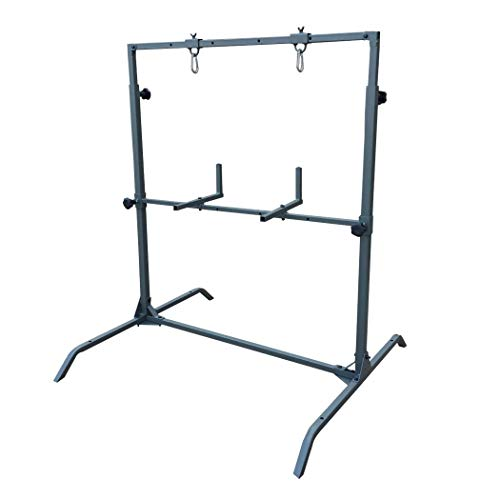 Highwild Archery Target Stand for Bag Targets Block Cube Foam - Larger Range - Multi-Function - Flexible - Durable