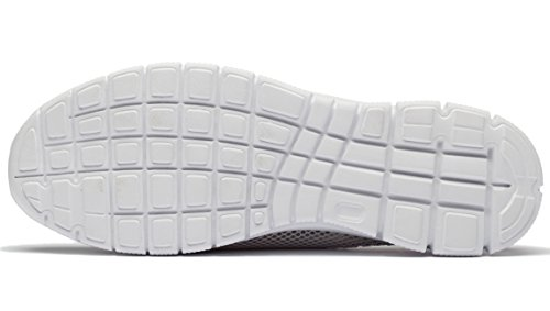 Grey Casual Men's Shoes Mesh Slippers Breathable Slip FLYWIND White On BSw7q6