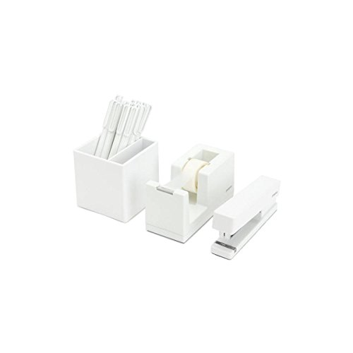 Poppin All Set Desk Collection Set White Buy Online In