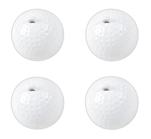 Tom David Lewis Set of 4 Lip Balm Toppers - Twist-Tube Holders, Novelty Sport Designs - ()
