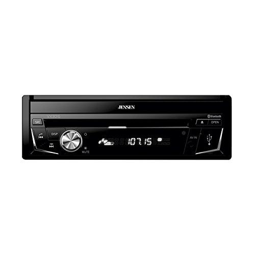 Jensen VX3016 1-DIN A/V Receiver w/ DVD   Bluetooth   USB   AV Input