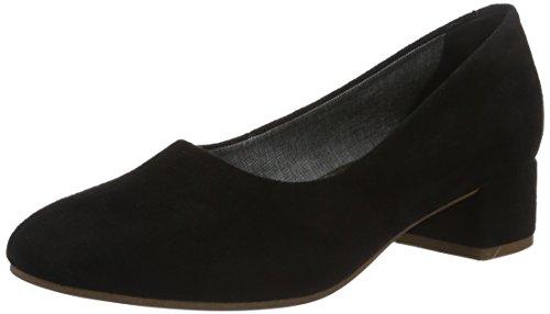 Negro Tacón Cerrada Mujer Punta de Jamilla Zapatos Black con Vagabond para AYqtzxf