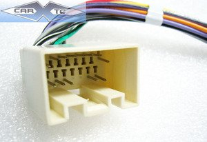 31zxYWdKIdL amazon com stereo wire harness ford econoline van 98 99 00 01 2010 ford e350 radio wiring diagram at bakdesigns.co