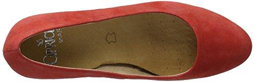 Caprice Damen 22402 Pumps Rot (pelle Scamosciata Rossa)