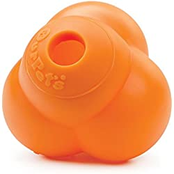 OurPets Atomic Treat Ball Interactive Dog Toy, 3-Inch (Colors Vary)