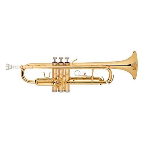 Funion Trumpet B Flat Brass Instrument Bb Key With Case FUTR-175