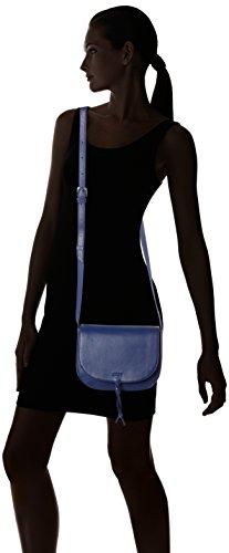 Bree Lusaka 1 Mini Bag Borsa A Spalla Pelle 22 Cm Blu blue