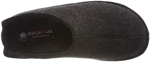 Haflinger Flair Men Smily Grey graphit Slippers 77 PCxwPqrO4