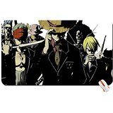 Anime One Piece Luffy Zoro Sanji Chopper Brook Franky Usopp Mugiwara Big Mouse Pad Dimensions:60X35X0.2 (Lady Zoro)