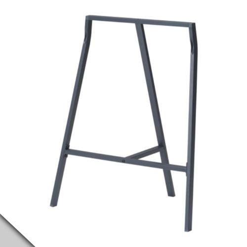 IKEA - VIKA LERBERG Trestle, grey (X2) - Table Harvest Trestle