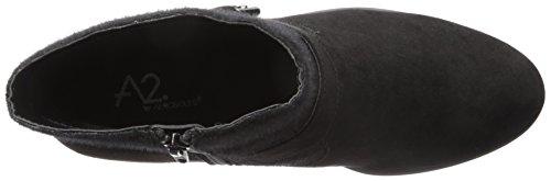 A2 by Aerosoles Women's My Way Boot Black Fabric QOAD1Ew