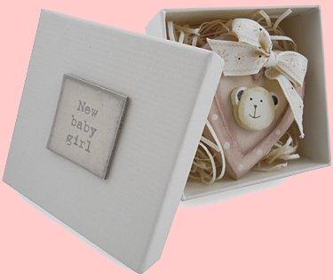 Nuevo bebé niña caja de recuerdos para recién nacido regalo: Amazon ...