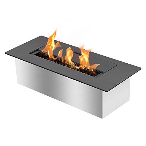 Ignis EB1200 Black Ethanol Fireplace Burner Insert