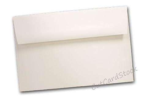 Classic Crest A1 Square Flap Envelopes - 250 Pack (Classic Natural White) - Classic Crest Envelope Natural