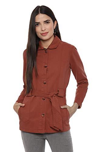 People Women's Jacket  P2C211519350316_Brown_S