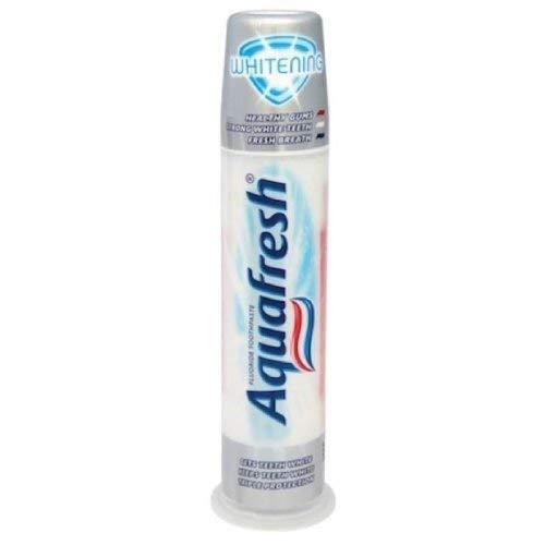 Aquafresh Whitening Toothpaste Pump - 100Ml - Pack Of 3