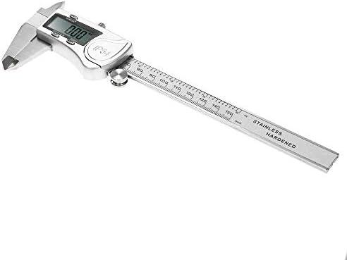 GJNVBDZSF Measuring Tools Vernier Caliper,- Digital IP54 Waterproof Stainless Steel Calipers High Precision LCD Display Vernier Caliper Measuring Tool Ruler