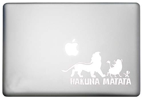 WallDecalsAndArt Disney Lion King/Hakuna Matata Swahili No Worries Sticker Mac Pro Retina Decal is a Hakuna Matata Decor Decal. Laptop Sizes 11, 12, 13 and 15 inch -