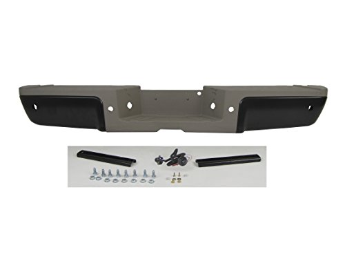 2013-2016 FORD SUPER DUTY KING RANCH MODEL REAR STEP BUMPER Powder coating BLACK ASSY WITH SENSOR HOLES (WITH HITCH, GOLD PAD , BRACKET , LICENSE LAMP & HARNESS, SCREWS) FO1103155
