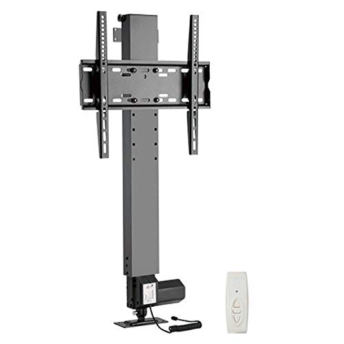 MYL Vertical POP-UP Motorized TV Lift with Remote Controller Stand Height Adjustable LED Bracket (37-55 Inches Motorized Vertical Lift)