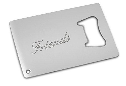 friends bottle opener card