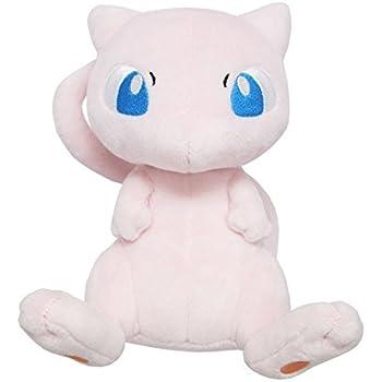 PP20 Mew /& PP17 Bulbasaur Set of 2 Real Sanei Pokemon All Star Plush Doll