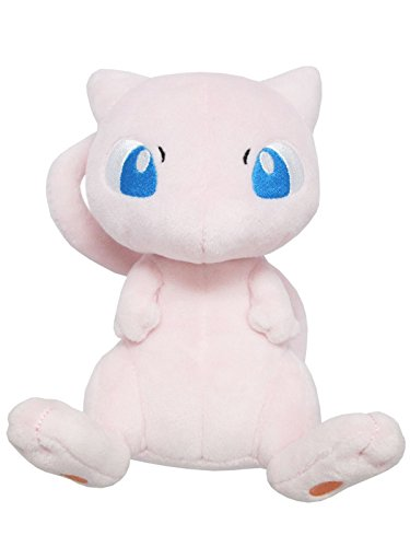 Sanei Pokemon All Star Series-PP20-Mew 6.5-Inch Stuffed Plush