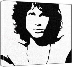Jim Morrison Pop Art Painting 100 Original Not A Print