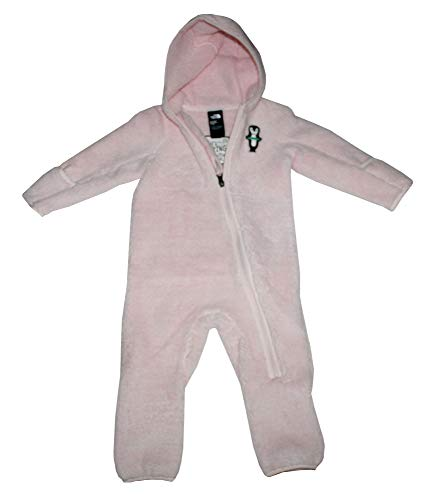 - The North Face Infant Groveland Sherparazo Fleece Baby Girls Hooded Body Suit (18-24 Months)