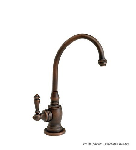 Waterstone 1200CABZ Hampton Cold Only Filtered Water Faucet, Antique Bronze by Waterstone