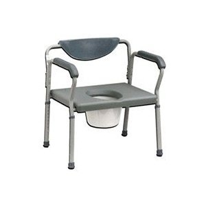 Drive Medical (a) Bariatric Folding Commode 650 Lb. Capacity