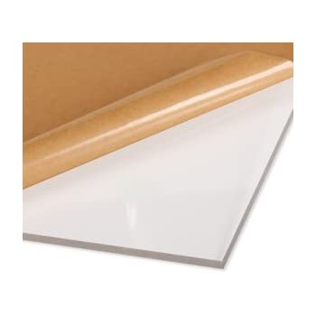 Acrylic Glazing Styrene 48 x 36inch 2mm pack of 10
