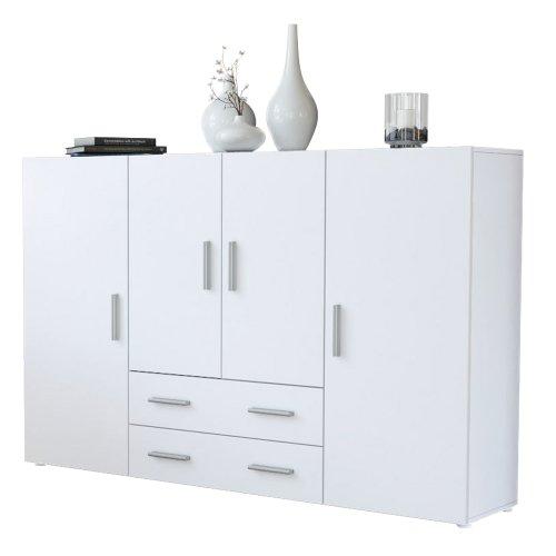 highboard wei matt bestseller shop f r m bel und einrichtungen. Black Bedroom Furniture Sets. Home Design Ideas
