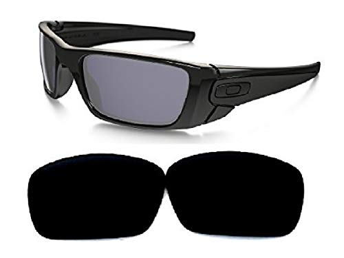 Galaxy Replacement lenses For Oakley Fuel Cell Polarized Black 100% UVAB (Schwarz Oakley Fuel Cell Sonnenbrille)