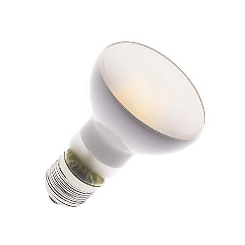 Bombilla LED E27 Regulable Filamento R63 Frost 3.5W efectoLED: Amazon.es: Iluminación