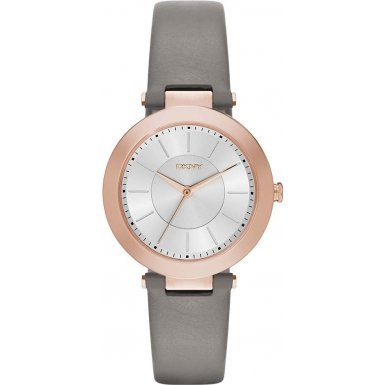 DKNY Women's NY2296 Stanhope Stainless Steel Watch With Grey Band