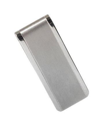 Wellness Men's Aerospace Titanium Ti Slim Money Clip Wallet Small Titanium