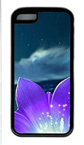 Magic Stars Sky Iphone 5C Case with Black Skin Edges TPU Supple Shell by Shariecover