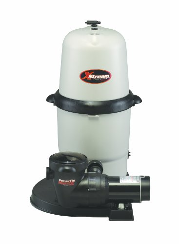 Hayward CC10092S Above-Ground Xstream 100-Square-Foot 1-Horsepower Full-Flow Element Filter System by Hayward