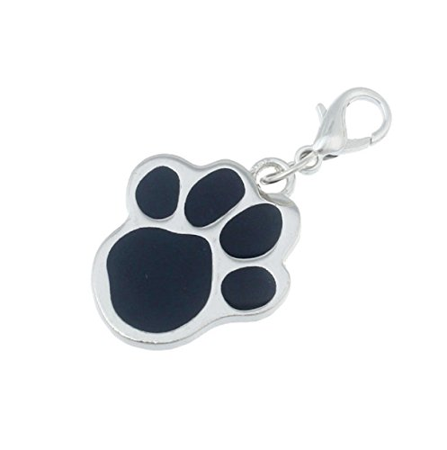 Tags-Fashion-Popular-Footprints-Puppy-Rhinestone-Pendant-Lovely-Pet-Jewelry