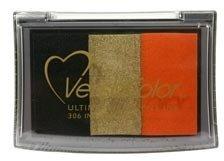 Tsukineko VersaColor 3-Color Pigment Ink Pad: Indian Corn (Versacolor Ink Cube)