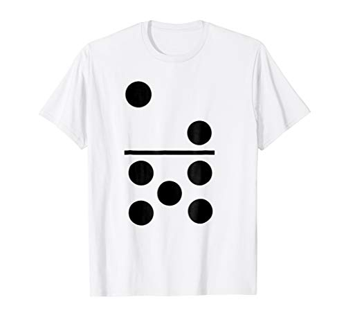 Big Domino Halloween Group Costume T-Shirt 2-5 Tile Tee -