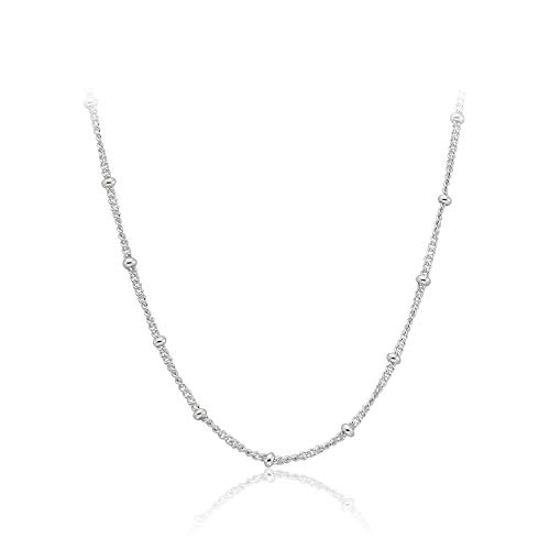 Pandora Silver Beaded Necklace Chain -