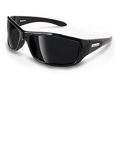 NEWPORT POLARIZED Sunglasses REGATTA Shiny Black / Polarized Grey - Best Sailing For Sunglasses