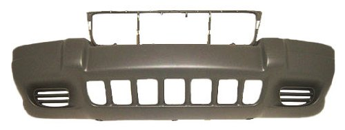 OE Replacement Jeep Cherokee/Wagoneer Front Bumper Cover (Partslink Number CH1000264)
