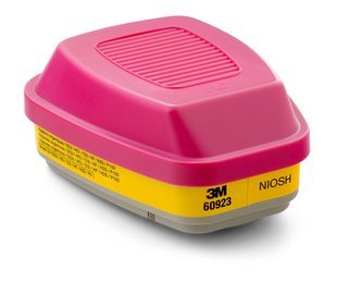 3m 60923 Ov/ag/p100 Combo Cartridge for 6000 Series Respirator Sold As 1 Case of 30 Paires
