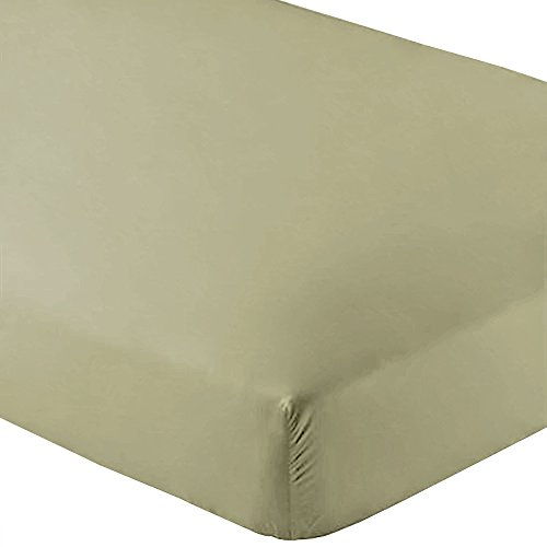 Bare Home Fitted Bottom Sheet Twin Extra Long - Premium 1800 Ultra-Soft Wrinkle Resistant Microfiber, Hypoallergenic, Deep Pocket - (Twin XL, Sage)